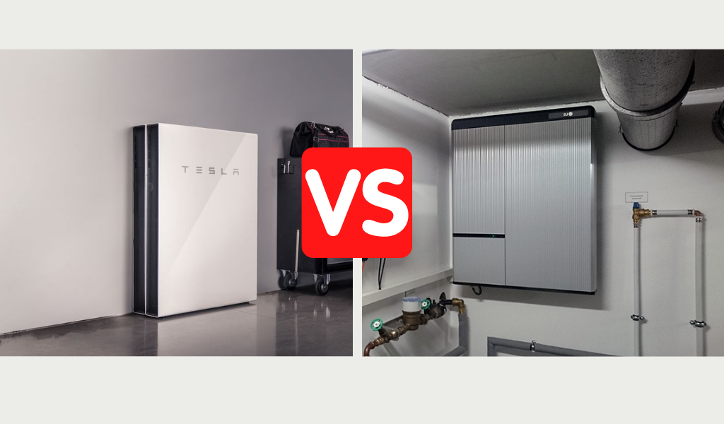 Tesla Powerwall vs LG Chem RESU